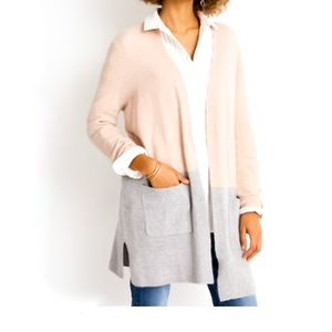 NWT Madewell Kent Colorblock Cardigan Sweater